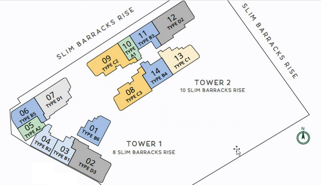 One-North Eden Site Plan